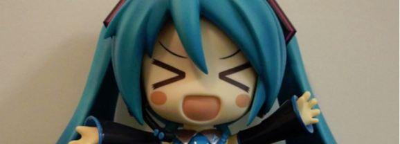 A huge dosage of Vocaloid cuteness in the Hatsune Miku Jumbo Nendoroid!