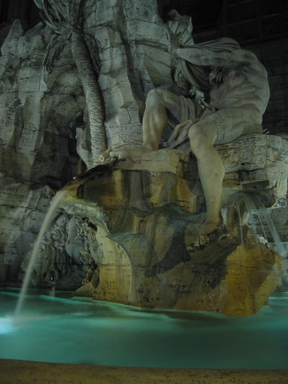 Bernini's la Fontana dei Fiumi