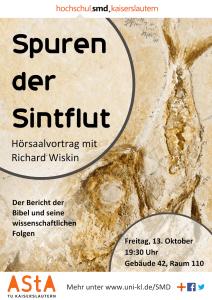 Hörsaalvortrag: ''Spuren der Sintflut'' mit Richard Wiskin @ TU Kaiserslautern, Raum 42-110 | Lawson | Missouri | USA