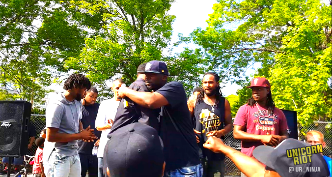 Vice Lords & GDs Unite in Milwaukee at 5th Annual 'Heal the Hood' Block Party