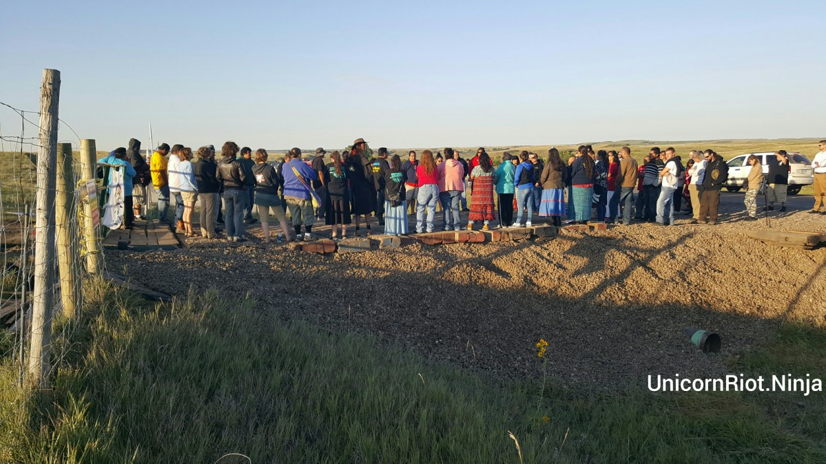 Dakota Access Pipeline Construction Halted for Second Day, Protest Camps Expand