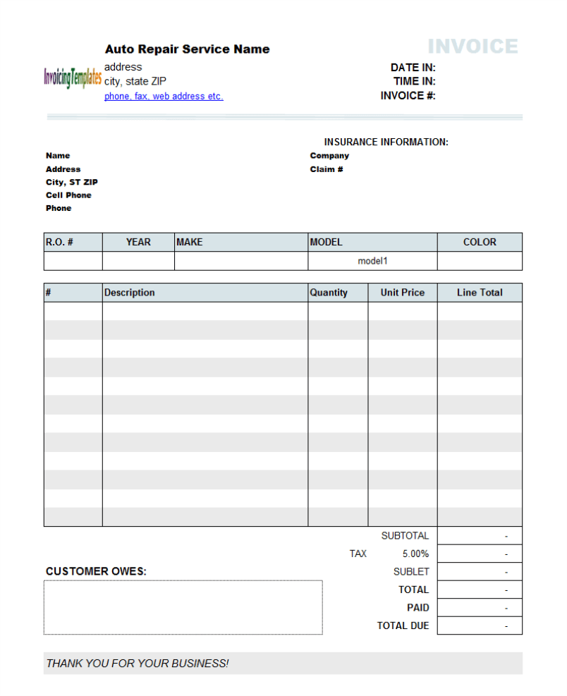 sample garage invoice resume samples resume examples templates sample garage invoice garage door invoice form deluxetm form mobile app auto repair invoice template 2
