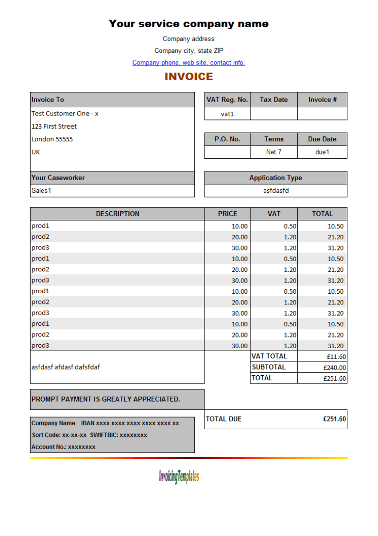 Food Bill Format In Word Analysis Template Forms – Receipt Template Open Office