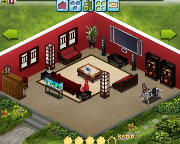 Build Your Home Sweet Home on Facebook Unigamesity - design your own home game