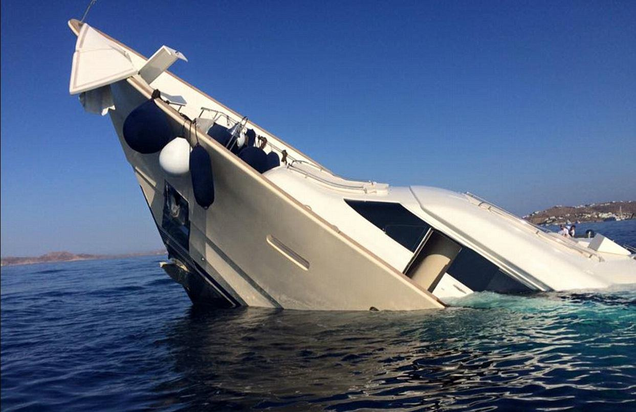 This Incredible 4 Million Yacht Just Sunk And Is Now