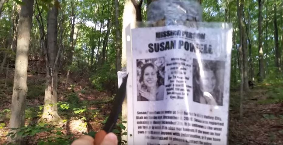 Hiker Discovers Blair Witch-Style Camp And Missing Persons Posters - Missing Persons Posters