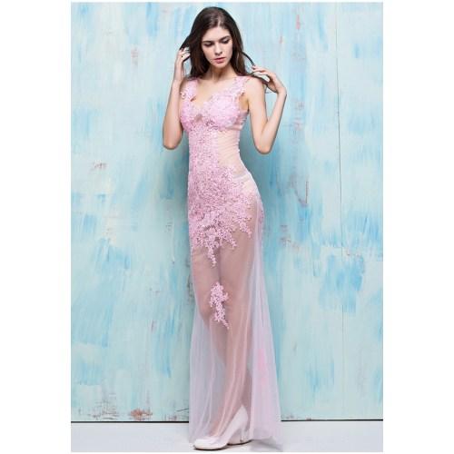 Medium Crop Of Pink Cocktail Dress