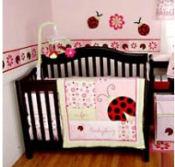 Ladybug Baby Bedding for Cribs