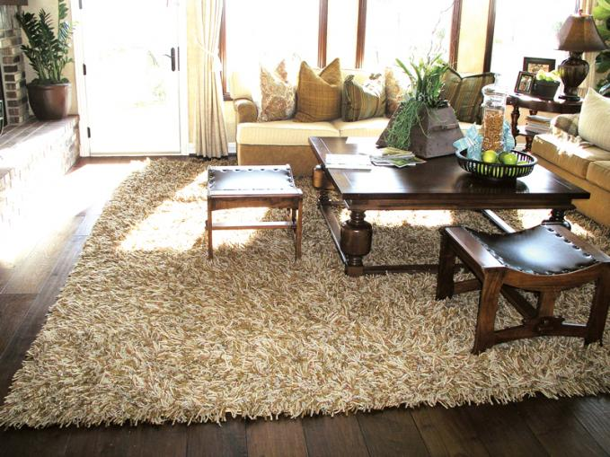 Merino Borealis Living Room Unique Carpets, Ltd - living room shag rug