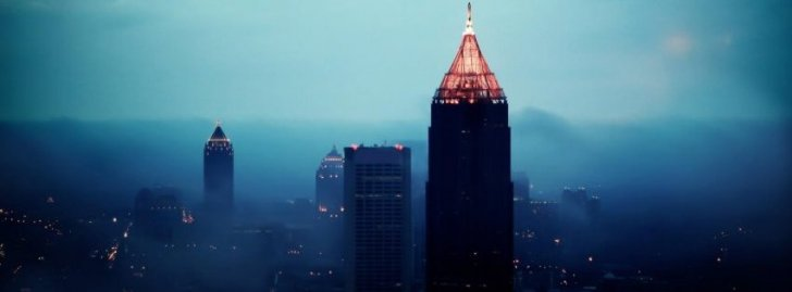 Free Sad Girl Wallpaper Download Atlanta City Night Buildings Skyscrapers Cityscapes