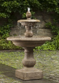 Caterina Fountain  Tiers from heaven with a multi-tiered ...