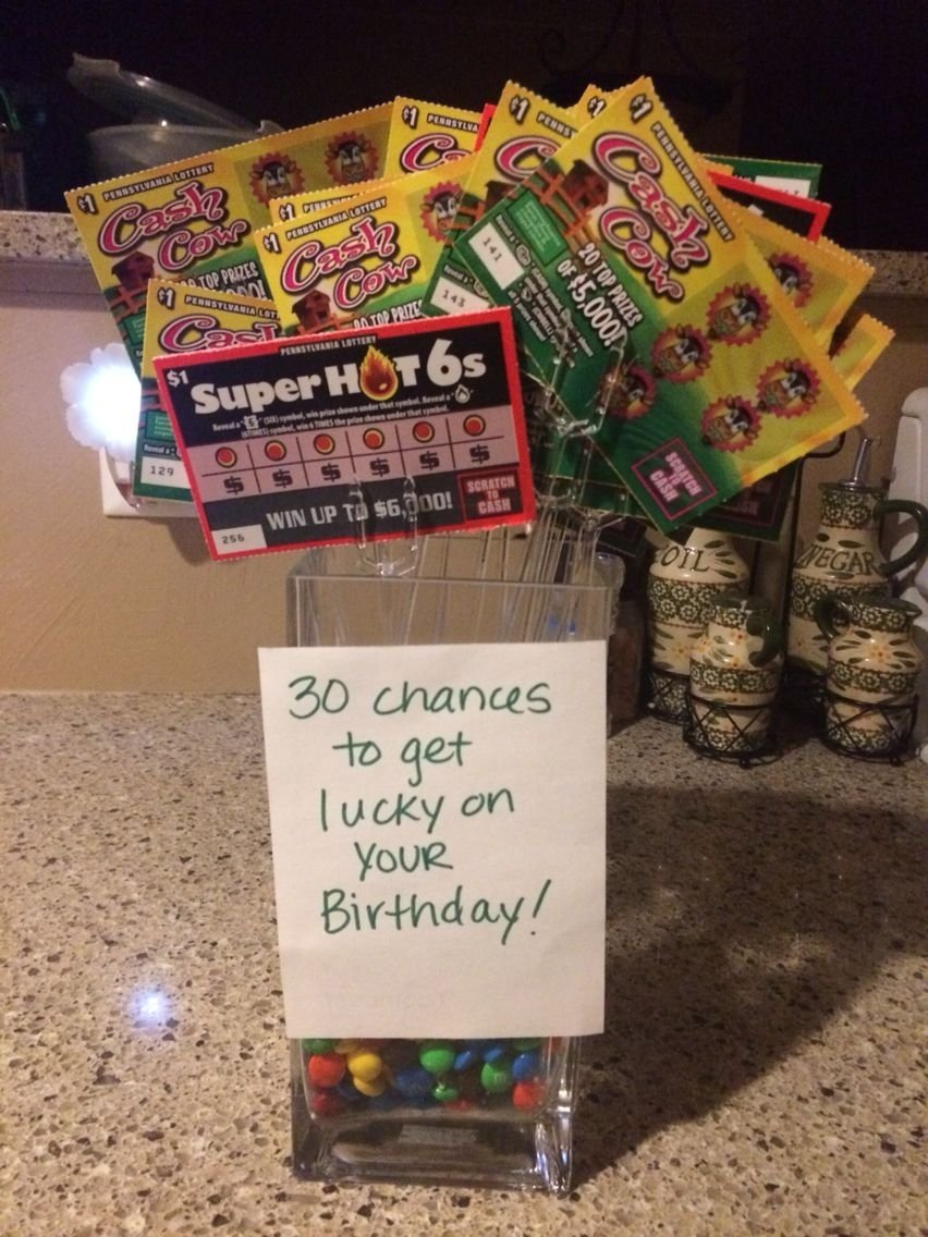 10 Cute Birthday Ideas For Husband Turning 30 30th The Gift