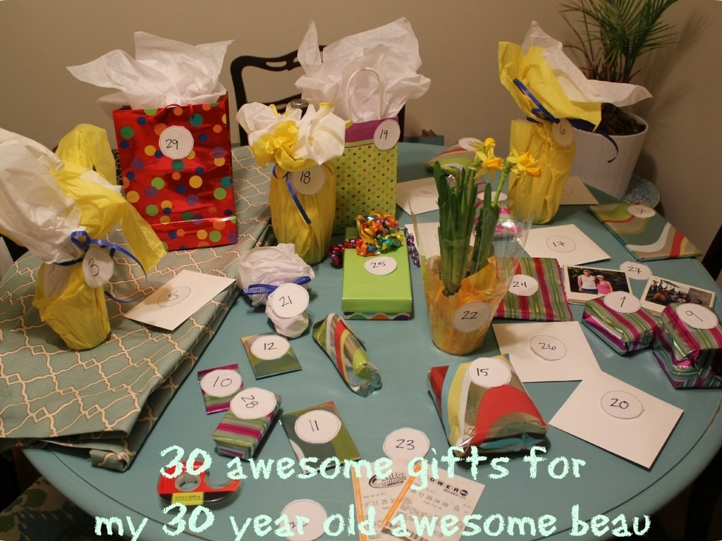 10 Cute Creative 30th Birthday Gift Ideas SaveEnlarge