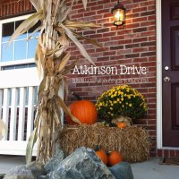 Fall Hay Bale Decorating Ideas fall hay bale decorating ...