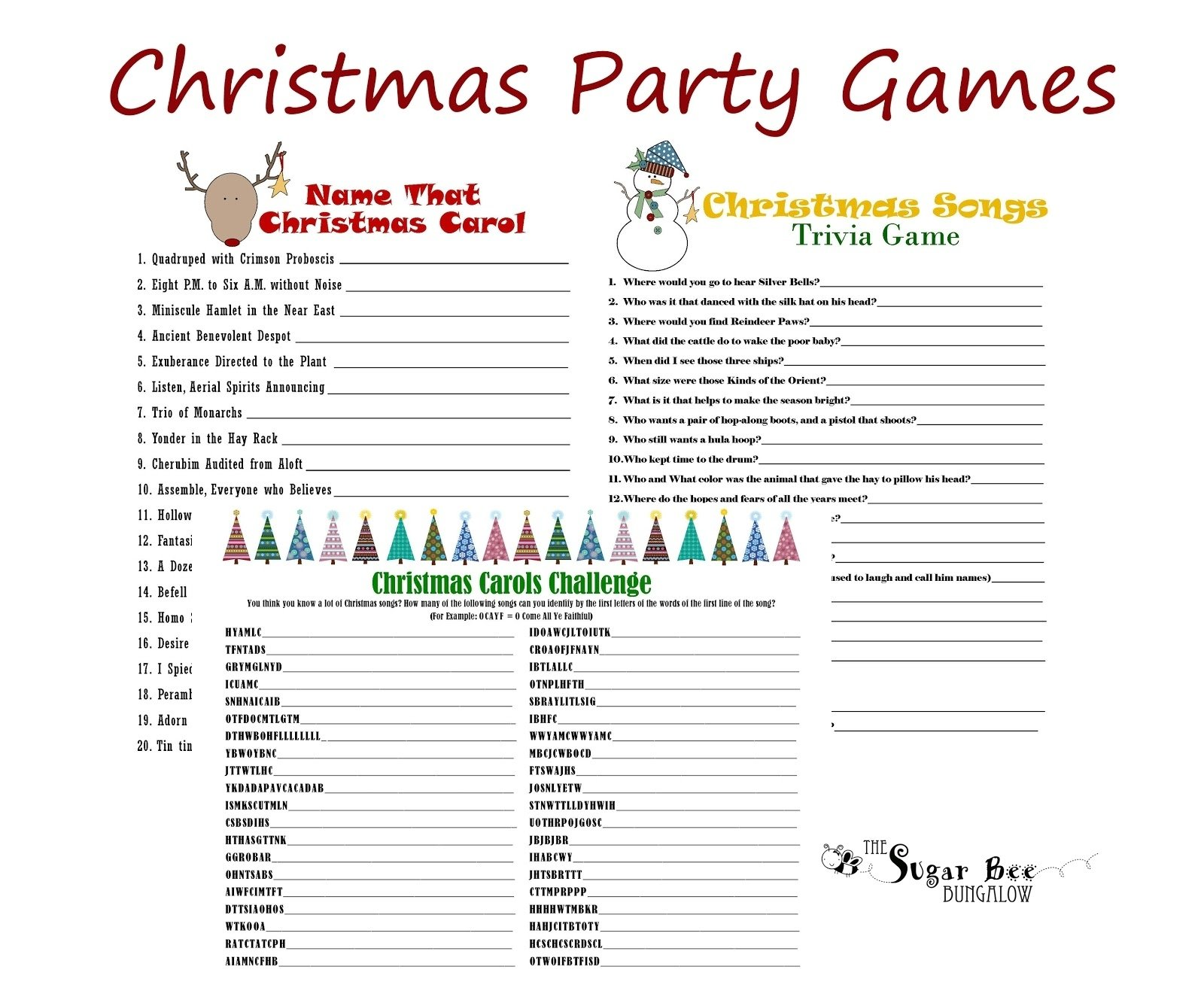 Results for Ideas For Office Holiday Party Games