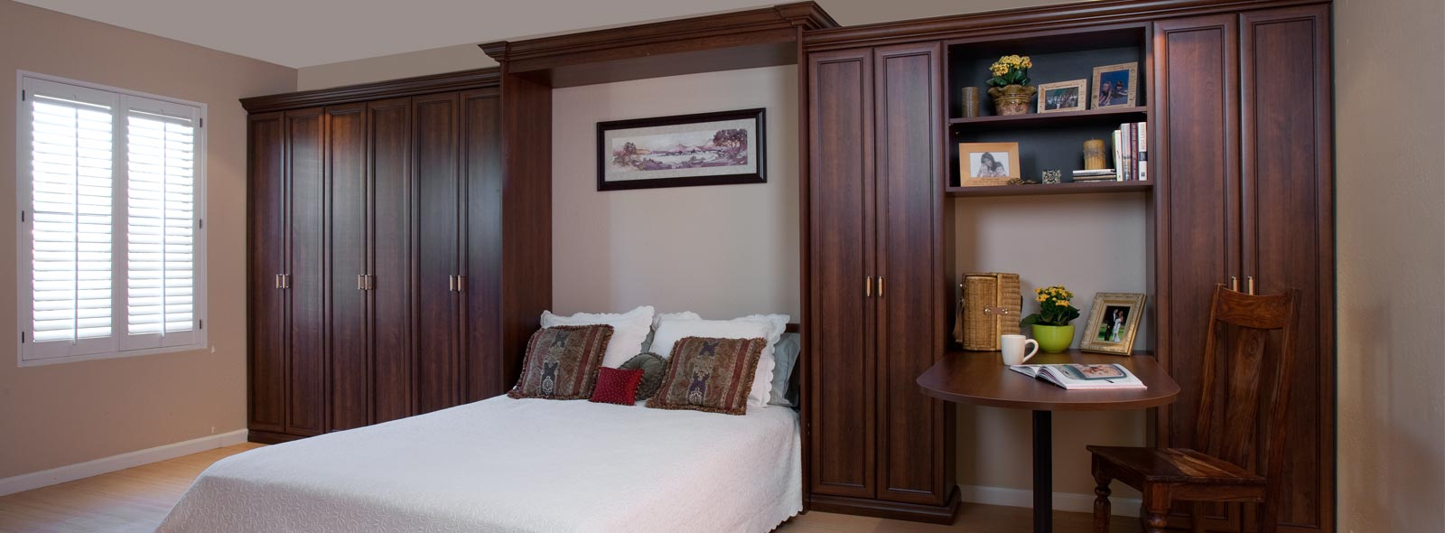 Walk in wood custom closet custom coco murphy bed home wall beds in delta british columbia
