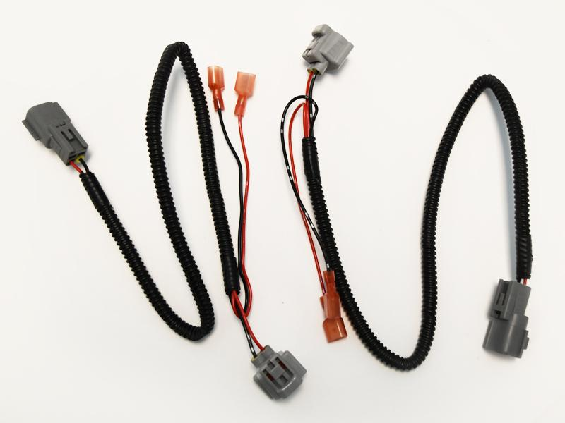 Front Turn Signal Light Quick Connect Extension Wiring Harness For