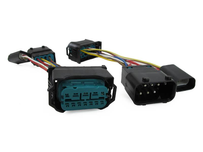 Wiring Harness Adapter 04-07 BMW E60 E61 5 Series TO USE ON 08-10