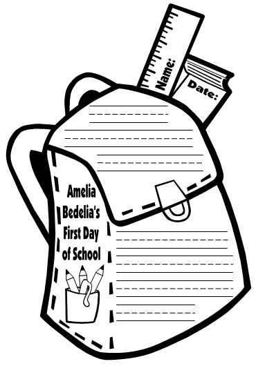 Amelia Bedelia First Day of School Lesson Plans Author Herman Parish