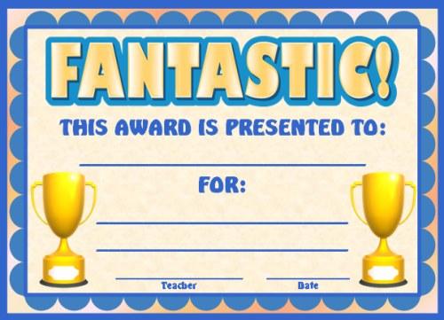 Achievement Award Certificates - certificate of achievement for students