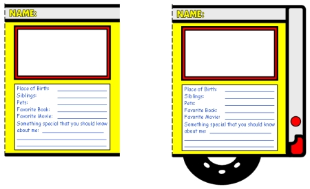School Bus Pass Template - FREE DOWNLOAD