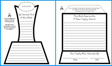 End of Year Lesson Plans Teaching Resources for June and July - first place award template