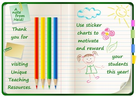 Free Sticker Chart Download Pencil Shaped Sticker Chart Templates - free reward charts to download
