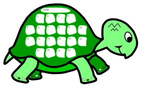 Turtle Sticker Charts Look At The Progress We Are Making! - sticker chart