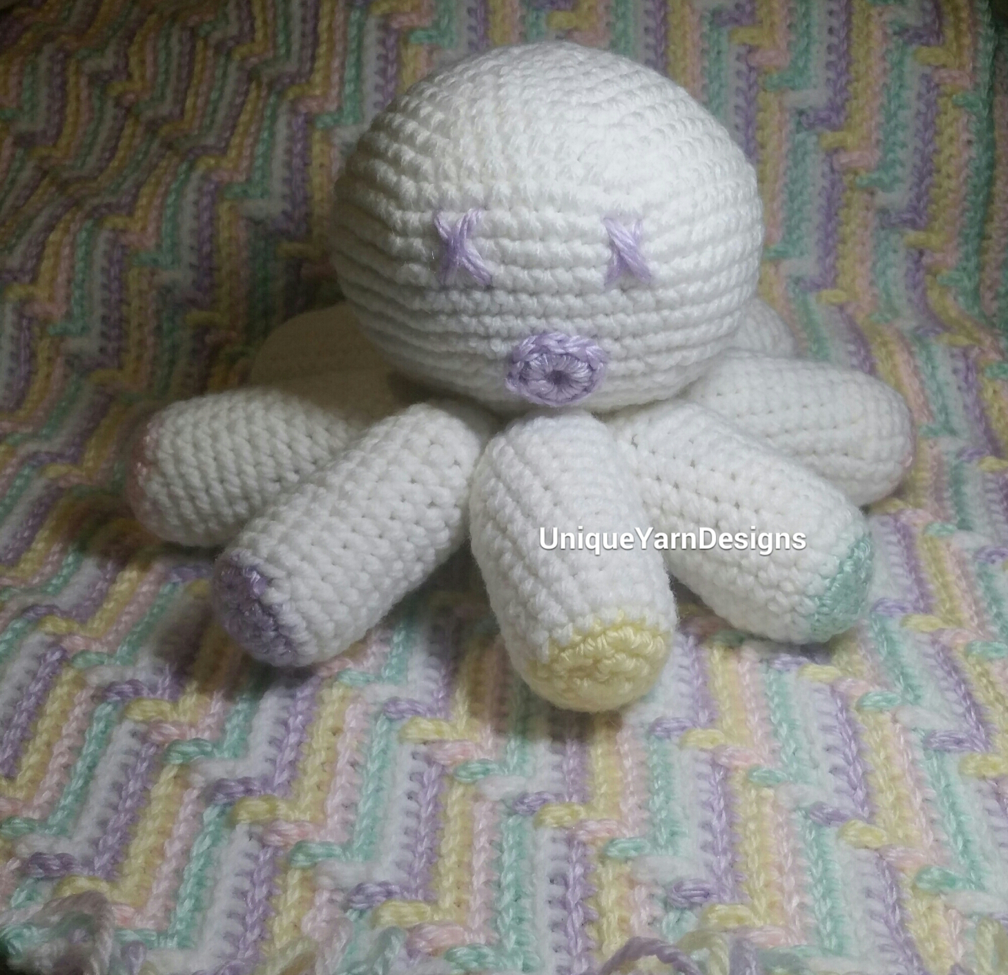Crochet Patterns Unique : Baby Octopus Crochet Pattern - Unique Yarn Designs