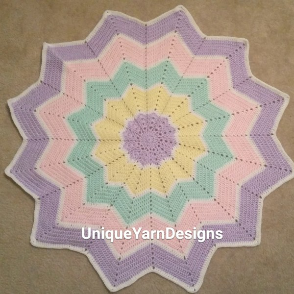 Review of Celeste Youngs Ripple Baby Blanket - Unique ...