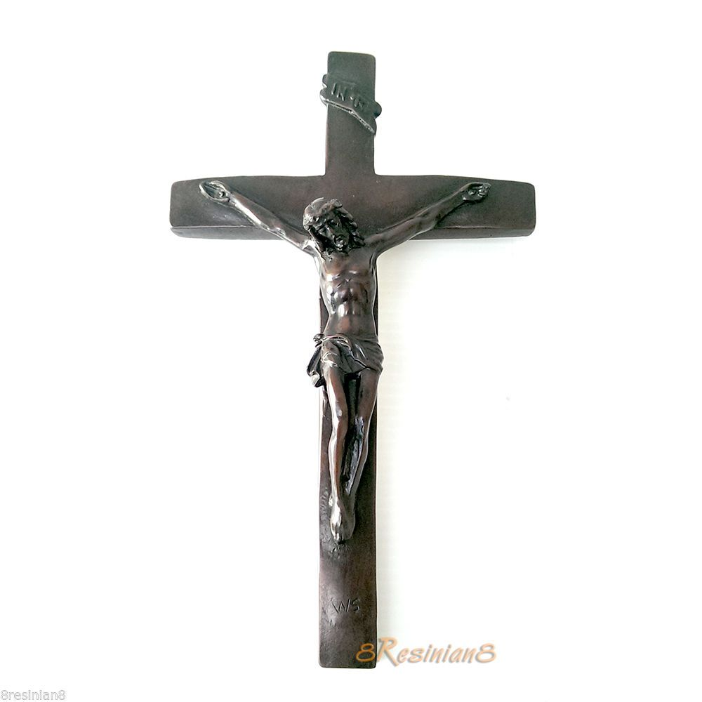 Hanging Decorative Jesus Crucifix Wall Cross Christian