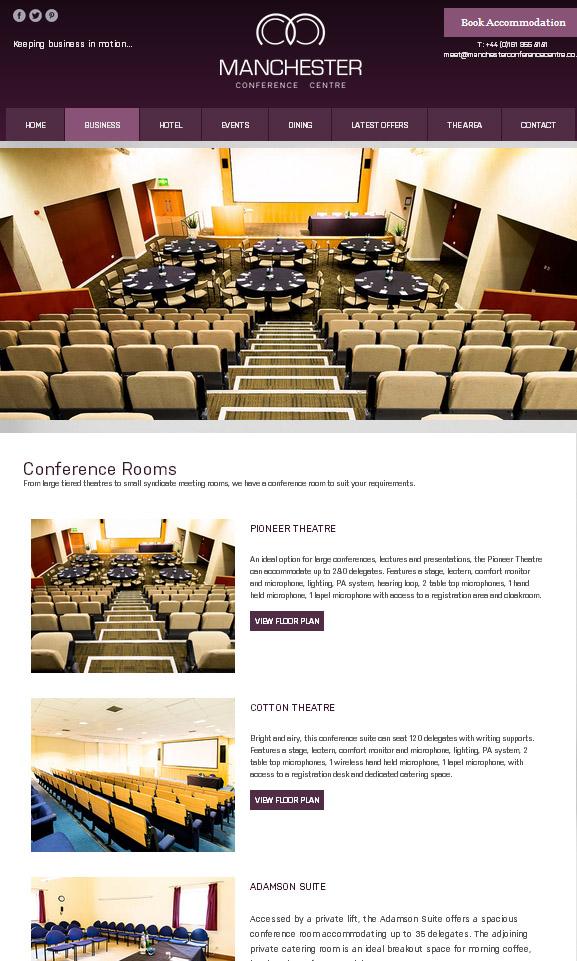 conference centre plans