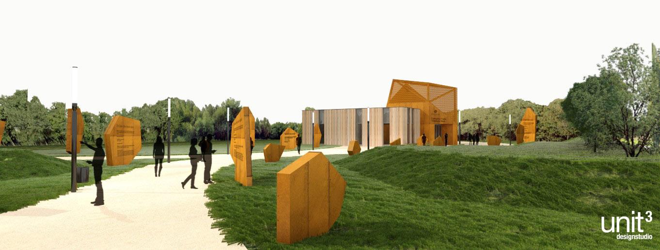 Woodland Trust Visitors Hub Langley Vale