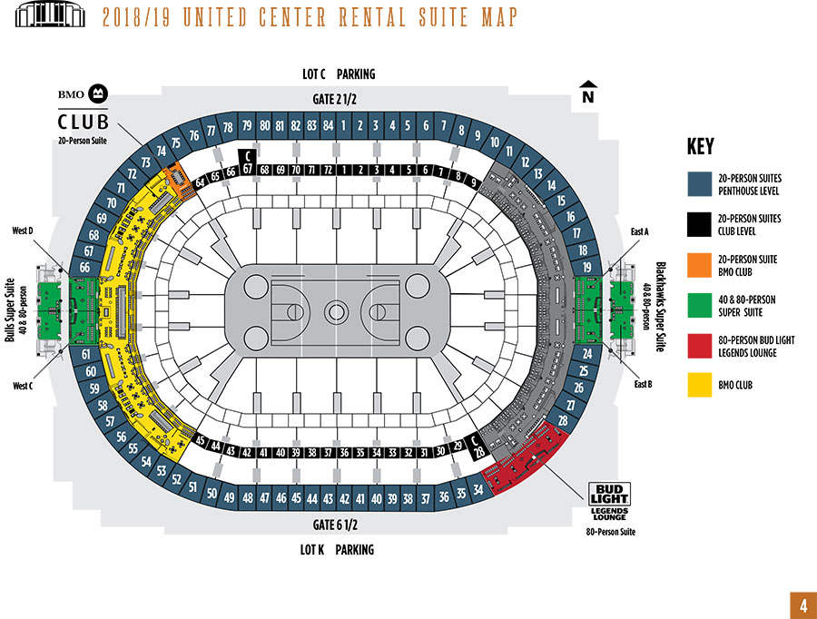Day-of-Event Rental Suites - Premium Seating Options United Center