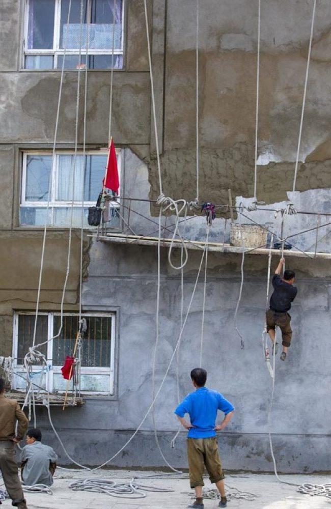"""""""No se trata de un circo. Son trabajadores en un país con bajos requisitos de seguridad"""" Eric Lafforgue."""