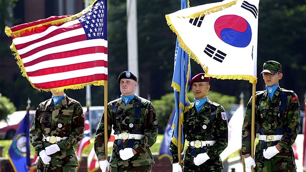 Militares estadounidenses y surcoreanos (RT)