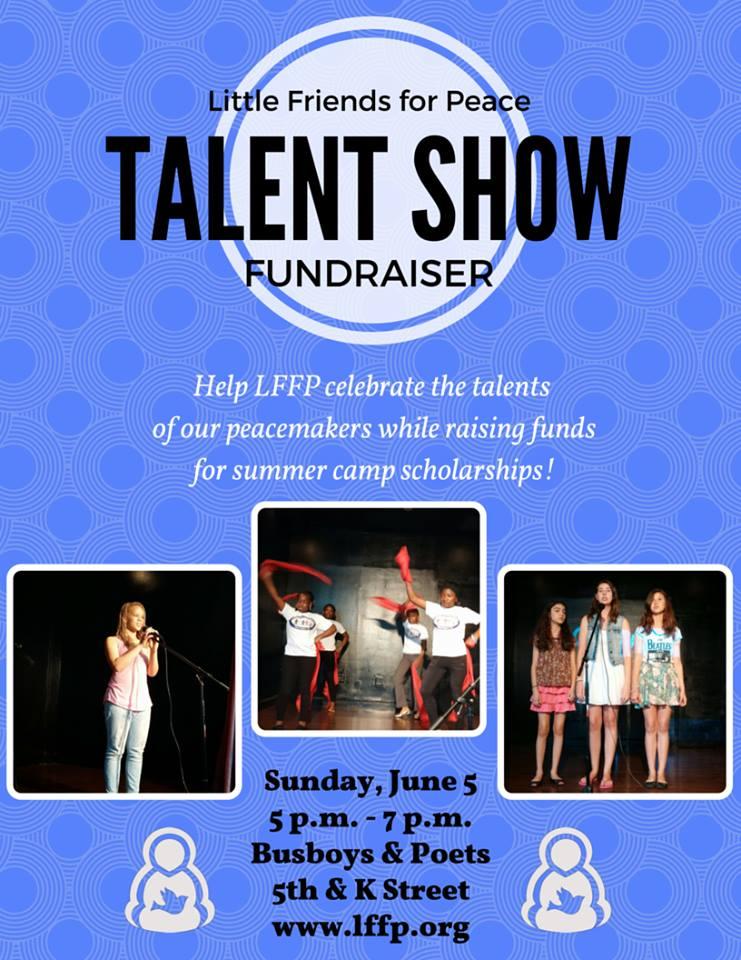 camp talent show flyer - Timiznceptzmusic