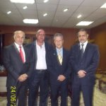 Iraq Head of Cabinet Ministers Al-Fazel, former Baghdad Governor and Dr Massimo Restivo