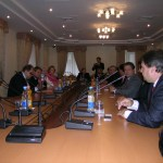 Meeting at Ukraine Foreign Ministry