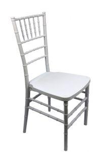 White Chiavari Ballroom Chair | United Rent All - Omaha
