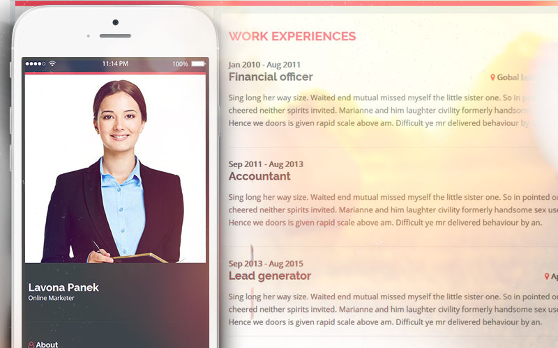 Introduction - Personal Resume Website Template - UniteTheme - resume website template