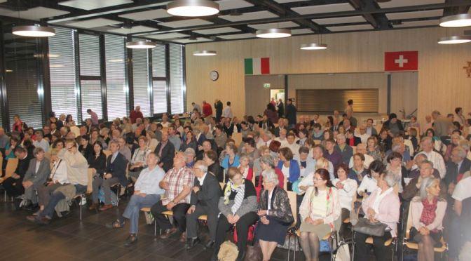 UNITRE Lucerna: Festa di apertura 2016/17