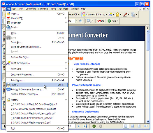 How to convert multiple PDF to TIFF - Universal Document Converter - Convert File To Pdf