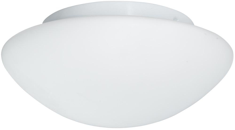 Flush Fitting 2 Lamp Opal Glass Bathroom Ceiling Light 1910 28