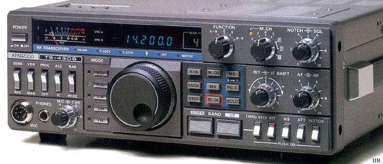 Kenwood TS-430S, Kenwood ts-430 Transceiver TS430
