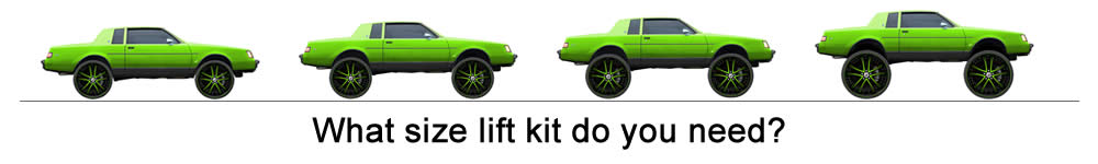 WHAT SIZE LIFT KIT DO I NEED TO FIT MY RIMS AND TIRES - Rim Fitment