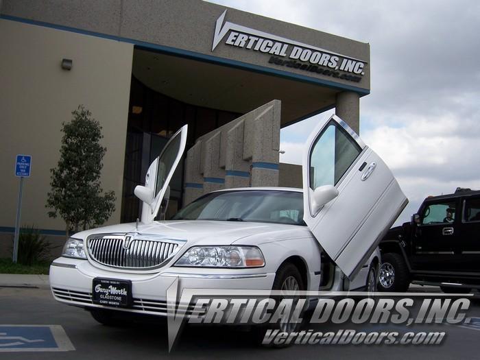 98 10 Lincoln Town Car Vertical Doors Lambo Kit Bolt On