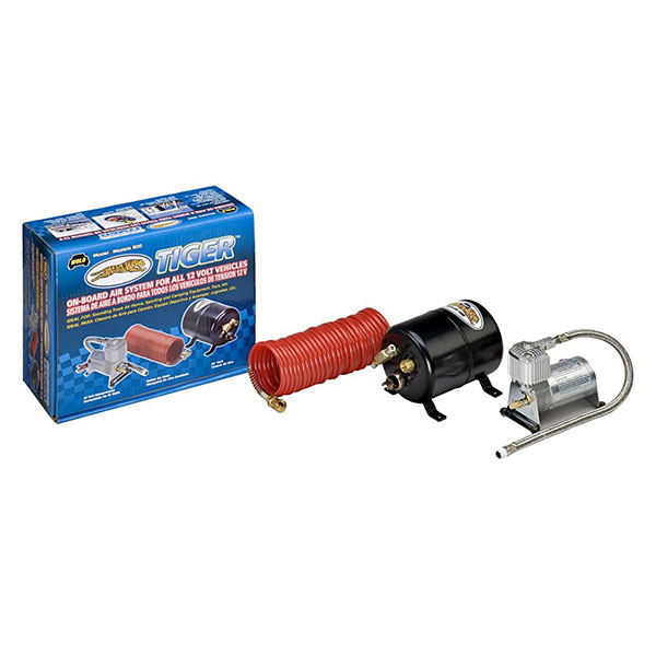 AIR HORN TANK AND COMPRESSOR COMBO WITH HOSES - Rim Fitment Specialists