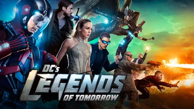 Un affascinante primo poster grafico per la seconda stagione di Legends of Tomorrow