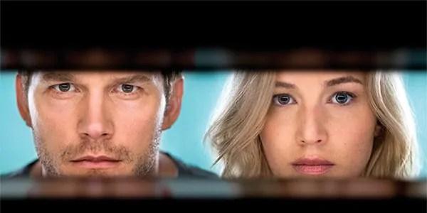 Un ultimo viaggio per Jennifer Lawrence e Chris Pratt nel primo trailer italiano di Passengers